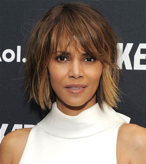 what does halle barre use in her hair to grt it to stand up on top halle berry s hair is a short pixie cut again today com
