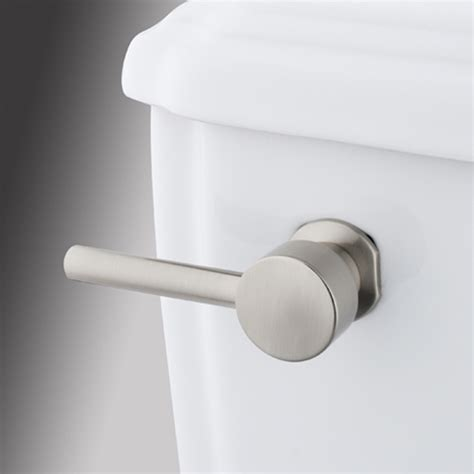 bathroom toilet handles shop elements of design concord universal brushed nickel