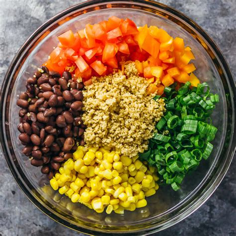 Best southwest couscous salad - savory tooth