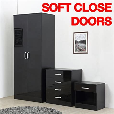 Black Gloss Bedroom Furniture Set Black Gloss Bedroom Furniture Sets Uk Review