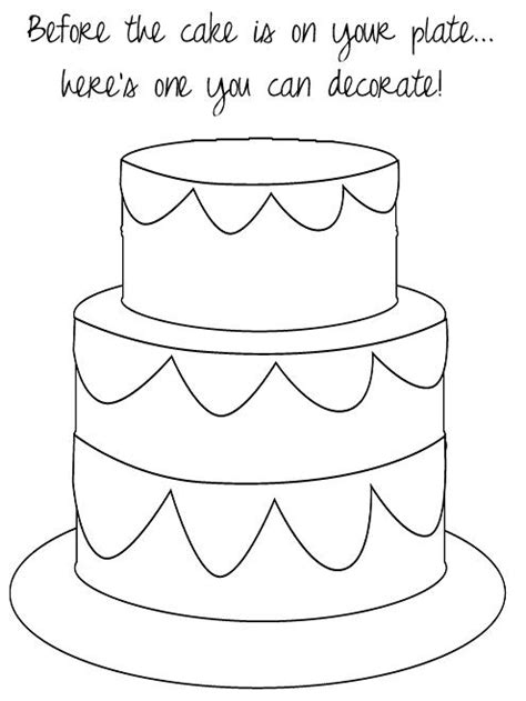 coloring page wedding cake wedding cake coloring pages