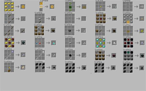 Crafting L by Food Recipes Minecraft Recipes Food