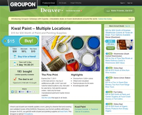 paint groupon los angeles kwal paint groupon get 50 house painting tips