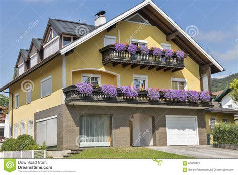 alpine architecture typical alpine architecture in austria stock photo image