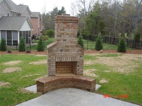 is it to burn wood in backyard 25 best ideas about outdoor fireplace brick on