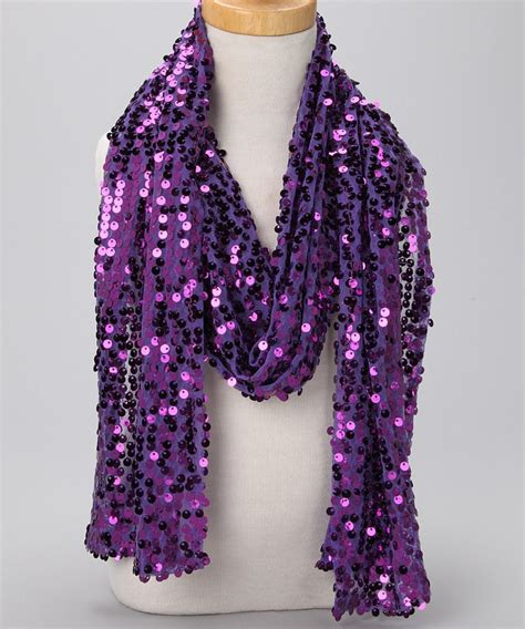 Scarf Purple purple sequin scarf products i