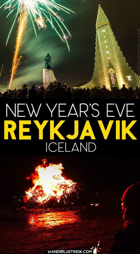 celebrating  years eve  reykjavik iceland