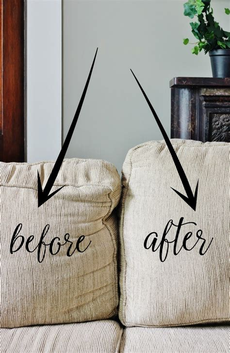 how to fix sagging cushions thistlewood farm