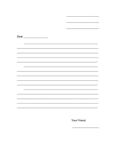 letter template kids eapkbpahpng letter