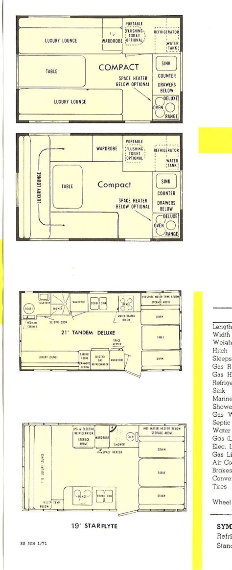 shasta rv floor plans shasta cer google search little houses on wheels