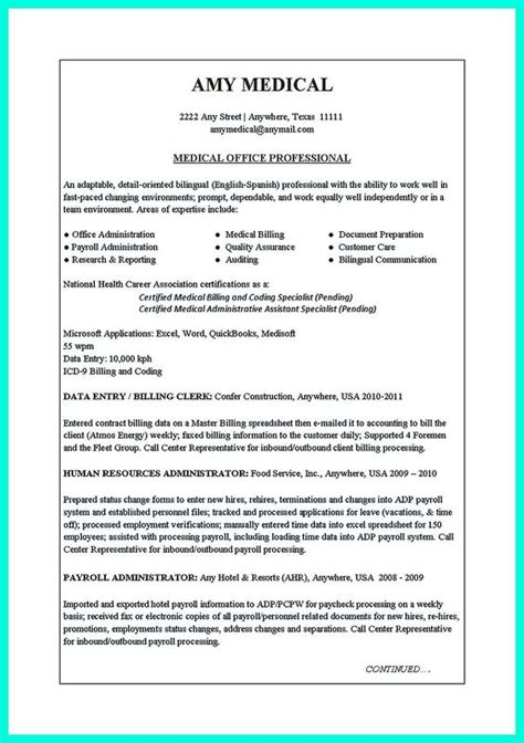 clerical resume sle think about the order of writing resume starting from and offices on