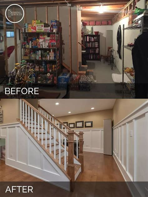 before and after basement best 20 open basement ideas on open basement