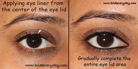 eyeliner tutorial lower lid how to put eyeliner on lash line howsto co