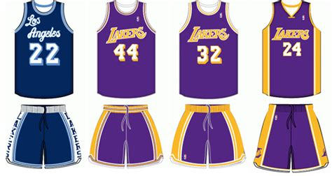 lakers jersey design will the lakers change jersey designs once kobe retires