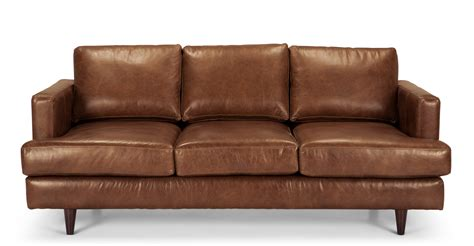 3 seater brown leather sofa irvine 3 seater sofa in pecan brown premium leather made com