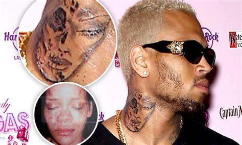 orlando brown tattoo chris brown claims neck is inspired by day of the