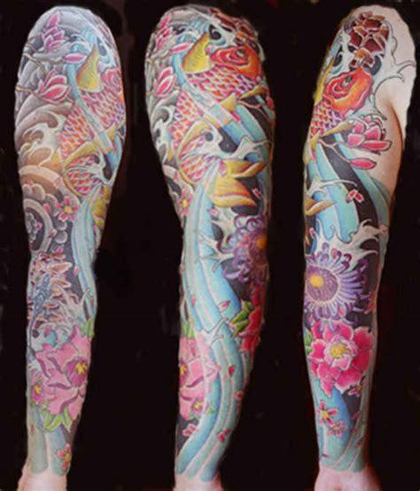 tattoo ideas koi sleeve 29 magnificent koi sleeve tattoos designs