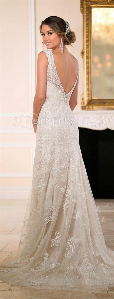 Hochzeitskleid Spitze Lang by Spitze Brautkleid Lace Empire Hochzeitskleid Lang