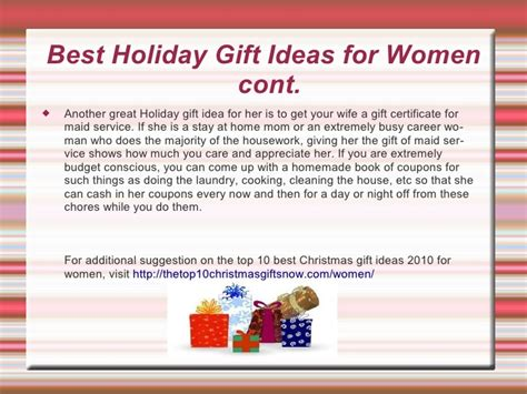 gift ideas for wife christmas gifts ideas for wife or girlfriend for 2010