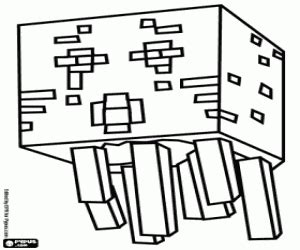 minecraft coloring pages ghast minecraft coloring pages printable games