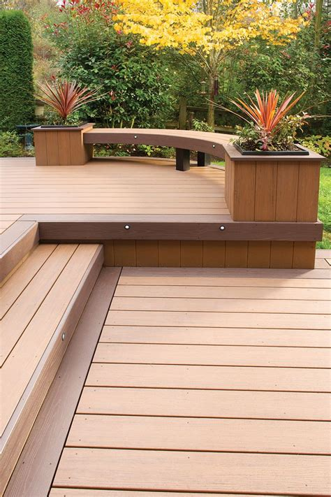 garden bench made from decking best 20 curved bench ideas on pinterest
