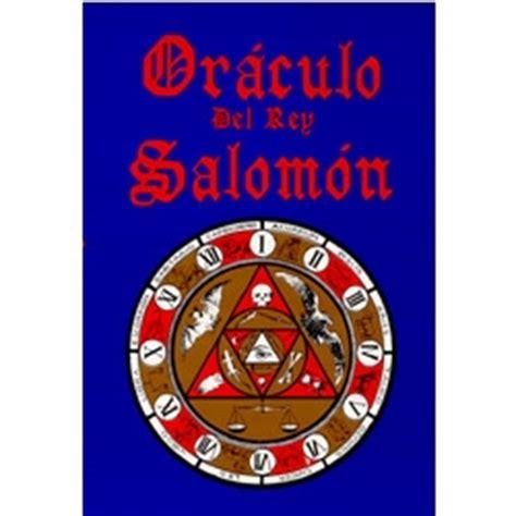 oraciones del sabio salomon el or 193 culo del rey salom 211 n berbera editores s a de c v