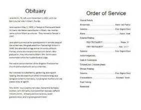 the funeral memorial program blog how to write a funeral