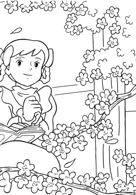 Ann Of Green Gables Coloring Pages Of Green Gables Coloring Pages