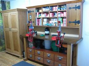 Shooting Benches How To Build Reloading Bench Gun Rooms Pinterest