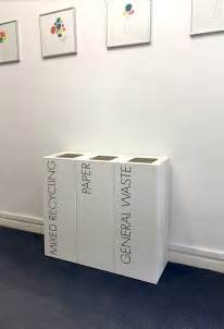 small recycling bins for kitchen office recycling bins sorting two 50 litre square