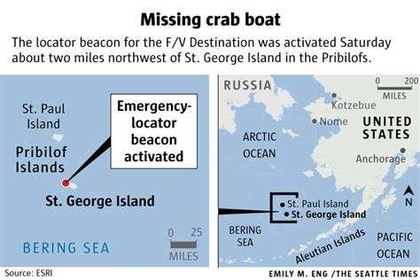crab boat destination crew found disappearance of seattle based crab boat crew a mystery