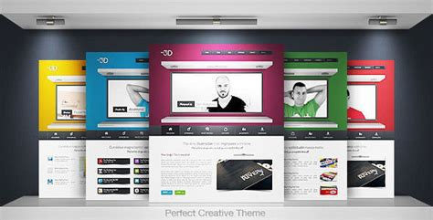 20 Premium Html Website Templates And Layouts 3d Web Design Templates Free