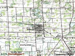 Willard Ohio Map by Willard Ohio Oh 44890 Profile Population Maps Real