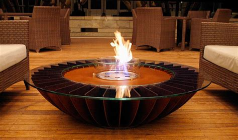 beautiful coffee table indoor fire bowl for the home