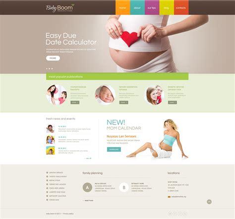 pregnancy template pregnancy responsive website template 45156