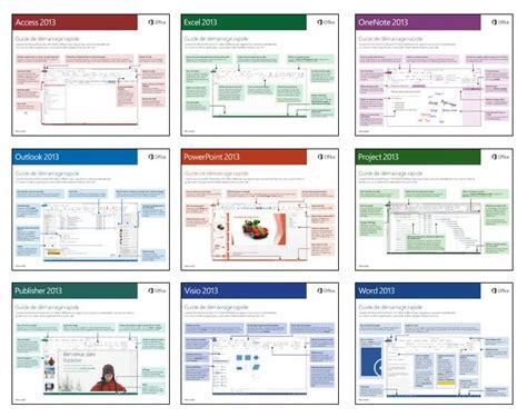 tutoriel powerpoint 2013 gratuit des petits guides de d 233 marrage rapide pour office 2013 en