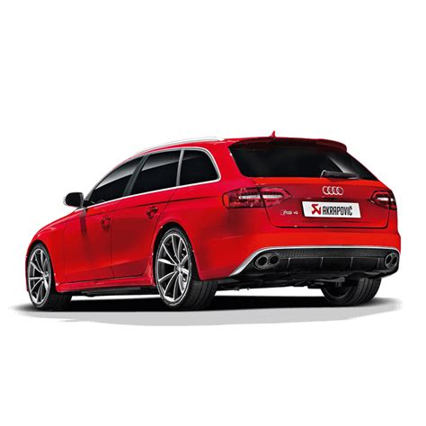 Audi Rs4 Datenblatt by Akrapovic Evolution Auspuffanlage Carbon Titan Endrohre