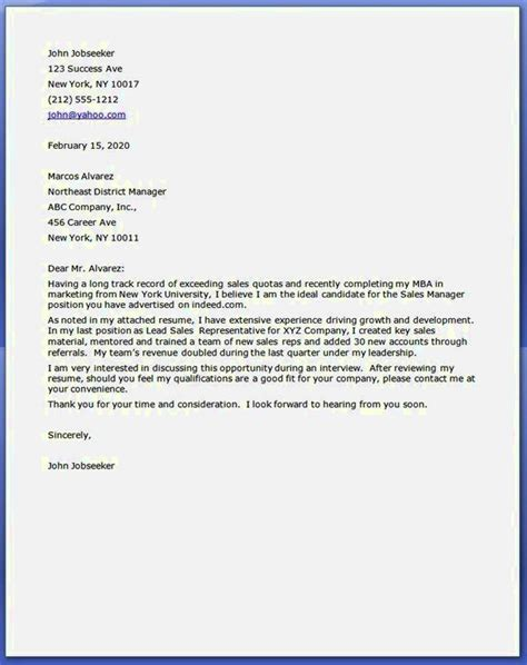 cover letter for stay at home going back to work resume template cover letter