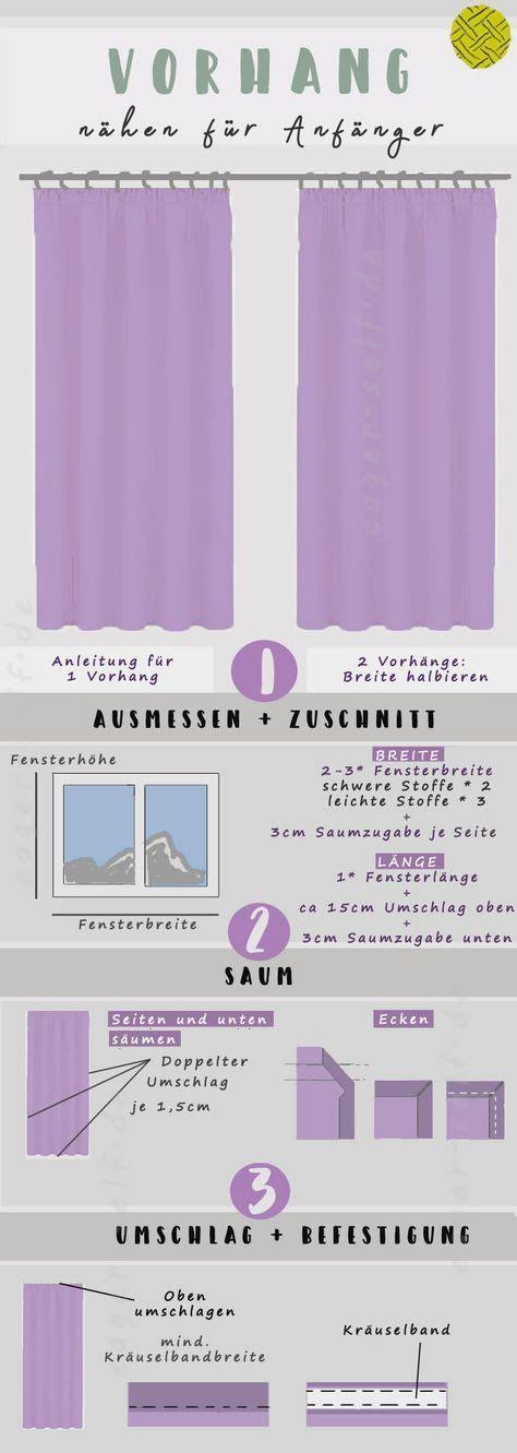 Vorhang Selber Nähen 4094 by In Nur 3 Schritten Zum Perfekten Vorhang F 252 Rs Fenster Mit