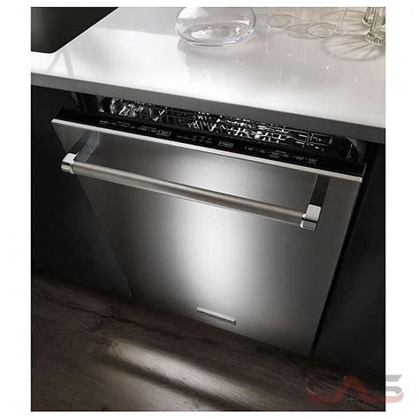 kitchenaid dishwasher kitchenaid kdte204dss dishwasher canada save 120 99