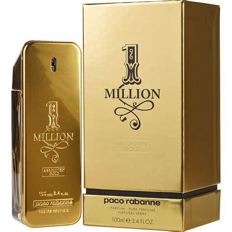 Parfume 1 Million paco rabanne 1 million absolutely gold parfum for by paco rabanne fragrancenet 174