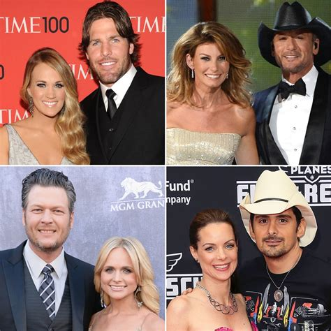country singers and their spouses pictures popsugar celebrity