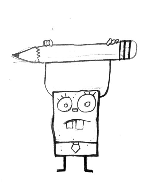 how to draw doodlebob doodlebob by simplistic18 on deviantart