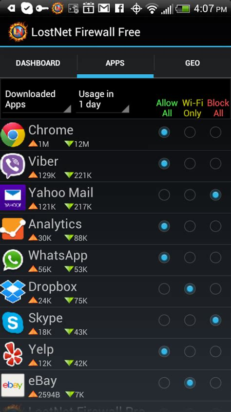 firewall for android networking in android 6 how to deny an app permission to access the network android