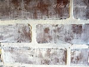 paint faux brick faux brick painting tutorial at www abitowhimsy