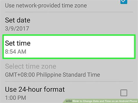 format date android how to change date and time on an android phone 7 steps