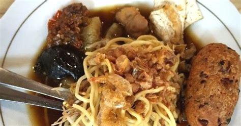 membuat mie balap cara membuat lontong mie surabaya resep masakan indonesia