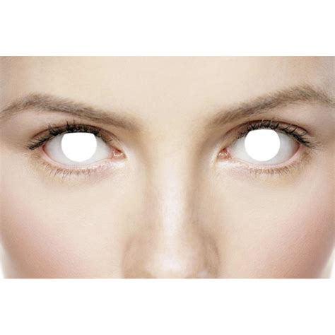 Blind Contacts mesmereyez fancy dress contact lenses blind 1 pair