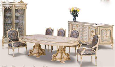 painted dining room sets venetian hand painted high style dining set