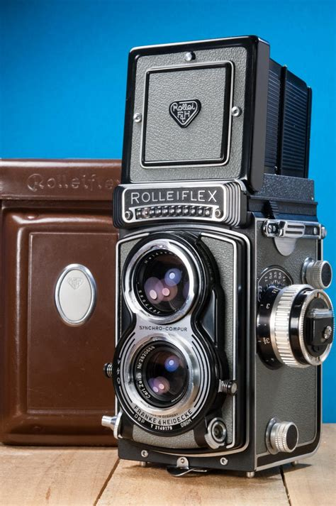 Rolleiflex T Type 1 Grey Maier classic